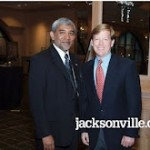 "With Mayor John Peyton at ""An Evening of Gratitude,"" April 19, 2011"