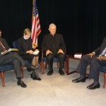 "Studio recording of ""Faith to Faith"" with members of Jacksonville Christian clergy"